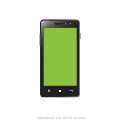 Smartphone Clip Art Free Vector