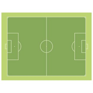 Soccer Pitch Free Vector