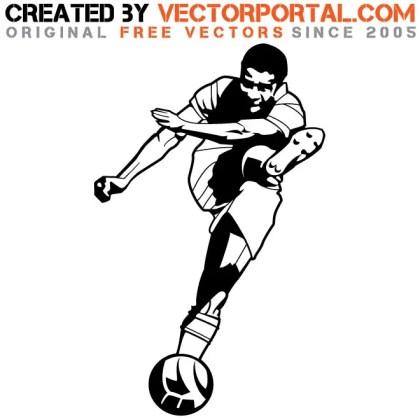 Soccer Player Eusebio Free Vector