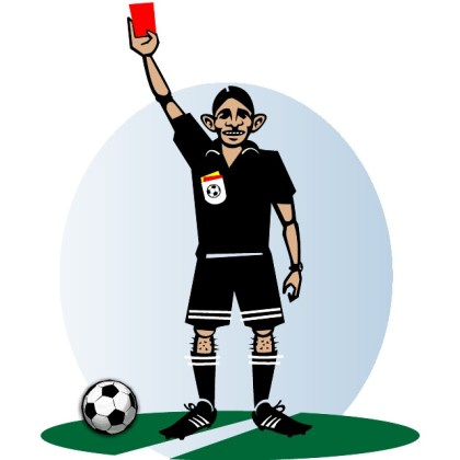 Soccer Referee Graphics Free Vector