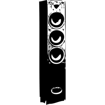 Speaker Image Free Vector