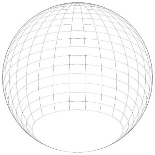 Spherical Shape Graphics Free Vector