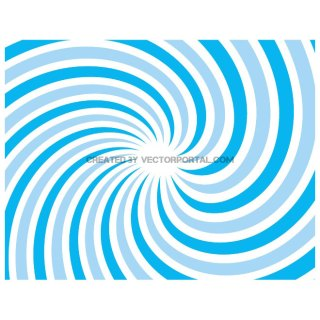 Spiral Sunbeam Ray Background Free Vector
