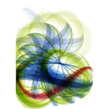 Spiral Swoosh Stock Free Vector