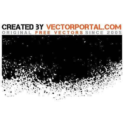 Splatter Ink Free Vector