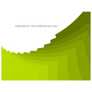 Stacking Green Background Free Vector