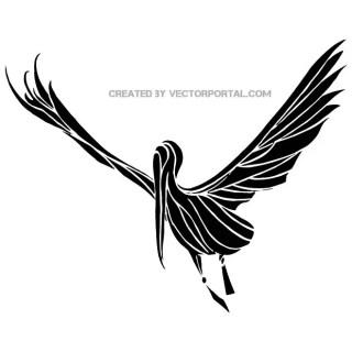 Stork Clip Art Free Vector