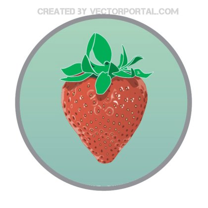 Strawberry Fruit Clip Art Free Vector