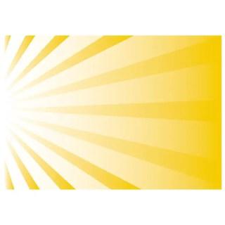 Sun Burst Left Side Free Vector