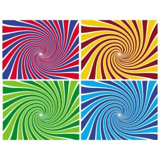 Sunbeams Swirl Background Free Vector