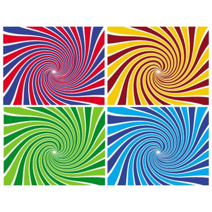 Sunbeams Swirl Background Free Vector