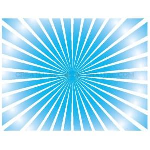 Sunburst Blue Background Free Vector