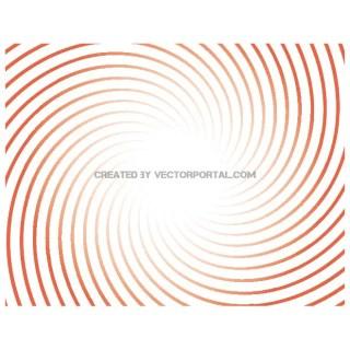 Sunburst Swirl Background Free Vector