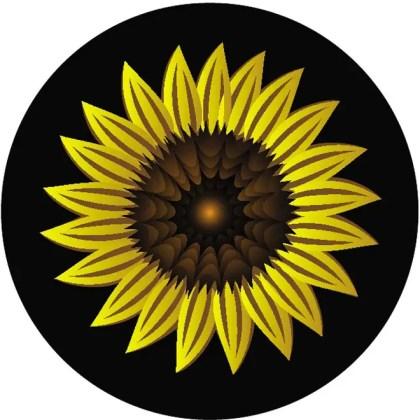 Sunflower Image Free Vector