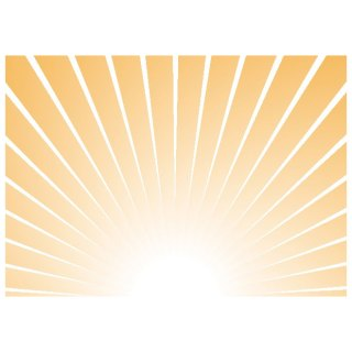 Sunrise Illustration Free Vector