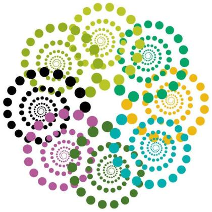 Swirls Color Design Elements Free Vector