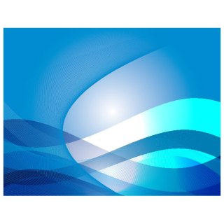 Swooshes on Blue Background Free Vector