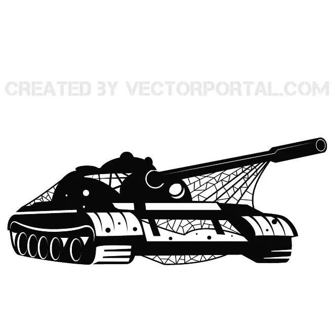 Tank Vehicle Graphics Free Vector