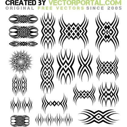 Tattoo Clip Art Graphics Free Vector