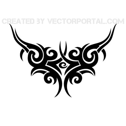 Tattoo Tribal Style Free Vector