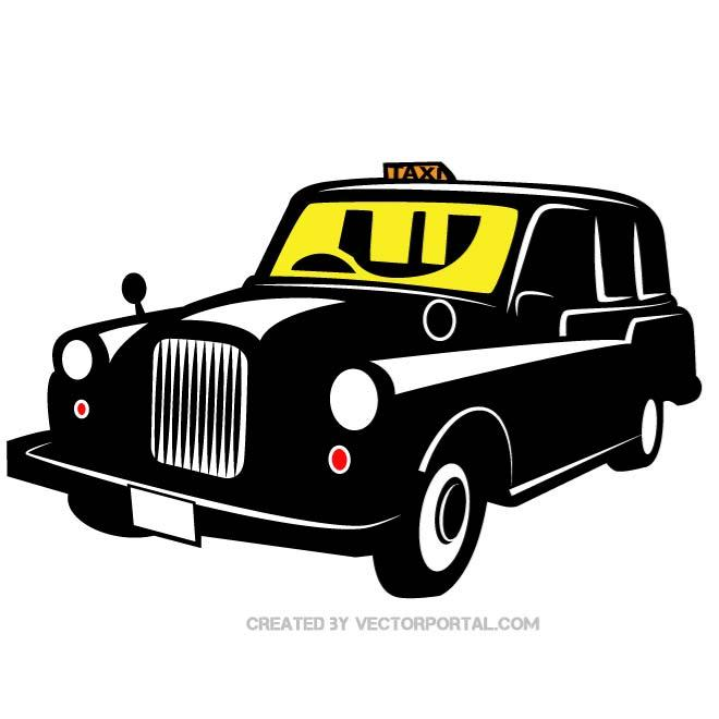 Taxi Vehicle Image Free Vector
