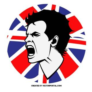 Tennis Player Andy Murray Free Vector