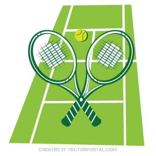 Tennis Sports Free Vector