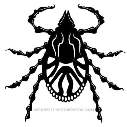 Tick Bug Clip Art Free Vector