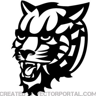 Tiger Graphics Free Vector