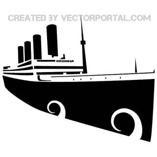Titanic Image Free Vector