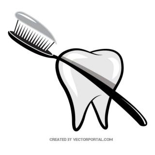Toothbrush Graphics Free Vector