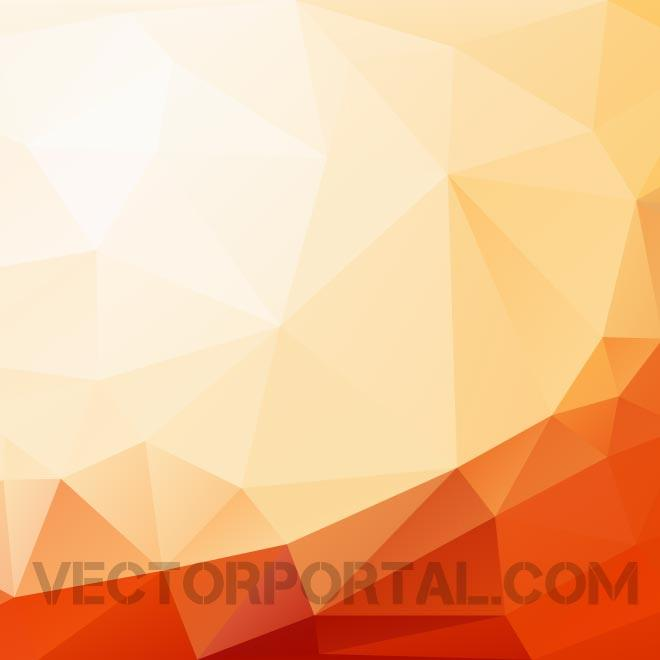 Triangle Shapes Background Free Vector