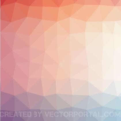 Triangular Background Pattern Free Vector