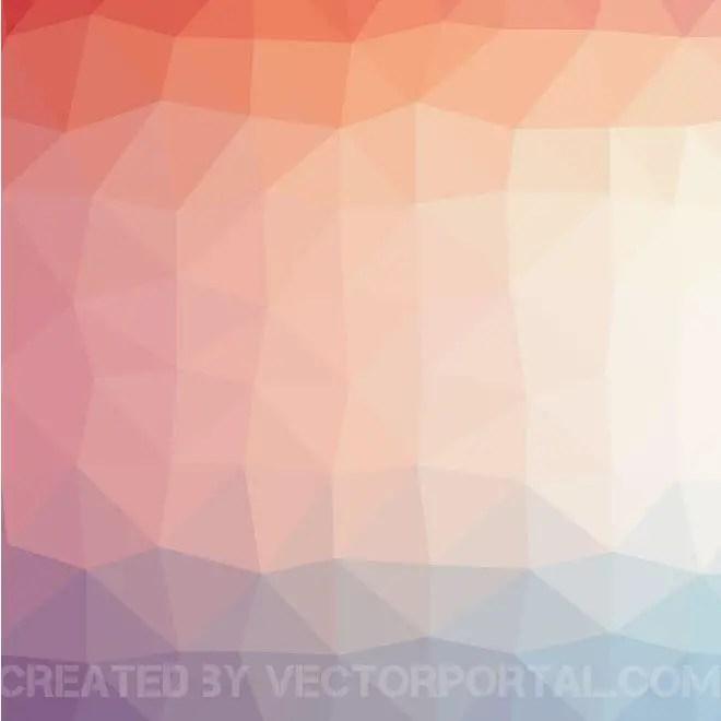 Triangular Background Pattern Free Vector