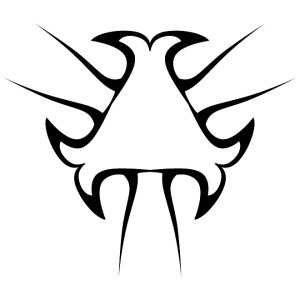 Tribal and Tattoo Shape Free Vector