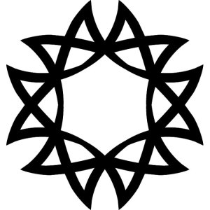 Tribal Art Shape Free Vector