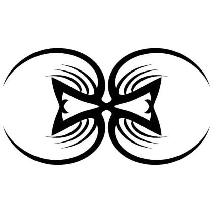 Tribal Artwork Simple Shape Free Vector