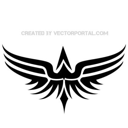 Tribal Bird Download Free Vector