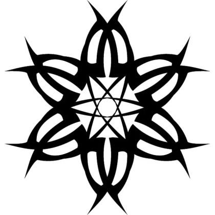 Tribal Design Element 3 Free Vector