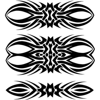 Tribal Elements Free Vector