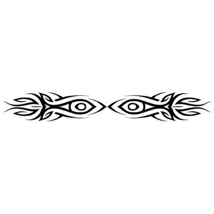 Tribal Eyes Free Vector