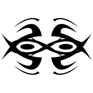 Tribal Eyes Image Free Vector