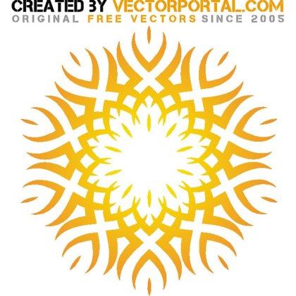 Tribal Graphic Free Vector