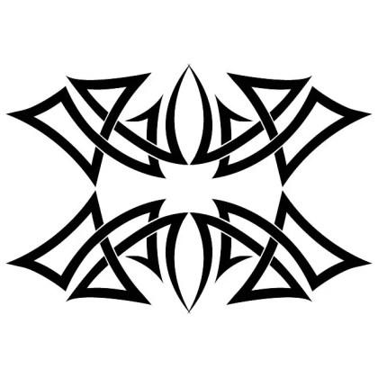 Tribal Ornament Element Free Vector