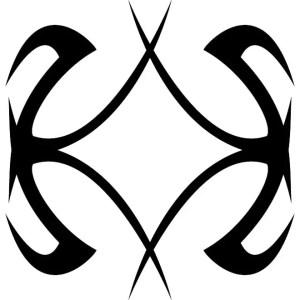Tribal Shape Image Free Vector