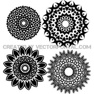 Tribal Shapes Free Vector