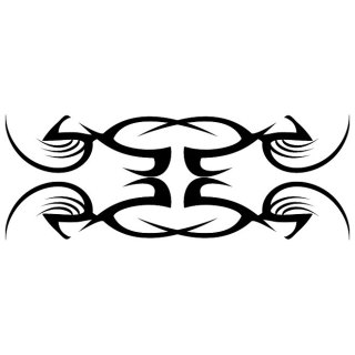 Tribal Tattoo Artwork Free Vector