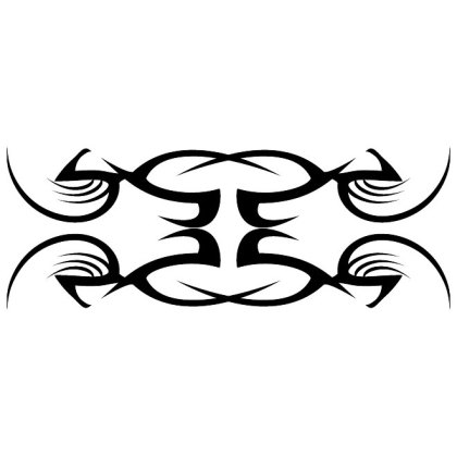 Tribal Tattoo Artwork Free Vector