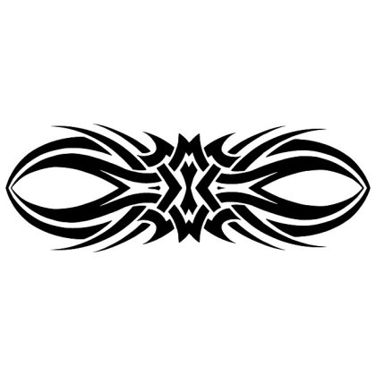 Tribal Tattoo Clipart Free Vector