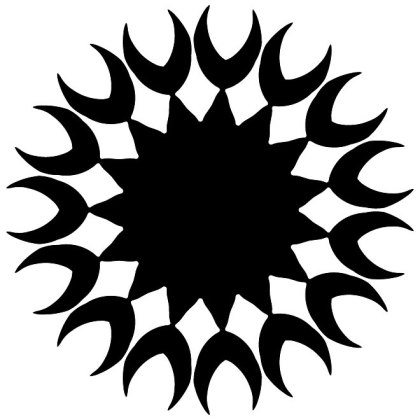 Tribal Tattoo Design Free Vector